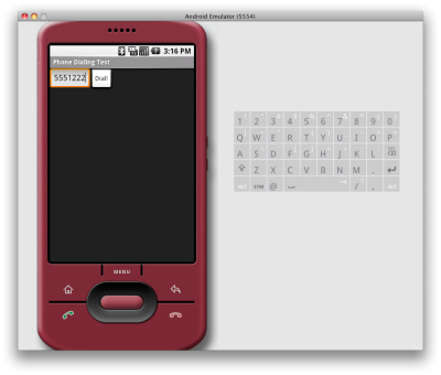 """Android Development Demo: """"DialANumber"""""""