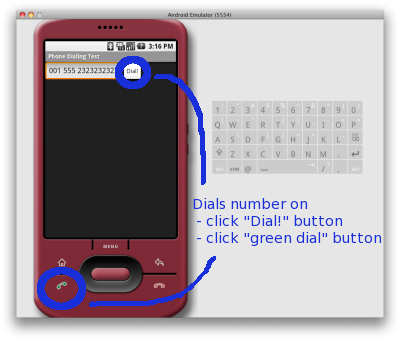 """Android Development Demo: """"DialANumber"""" - How to write your own very first Android program - Made Simple!"""