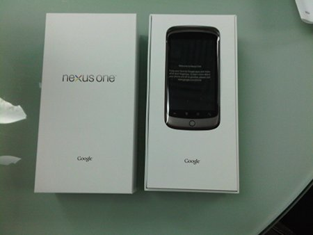 Nexus One - Unboxing