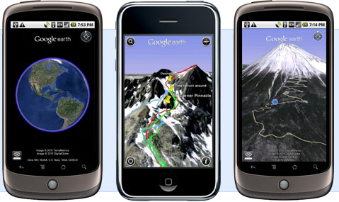 Google Earth for Android Phones | Android Development