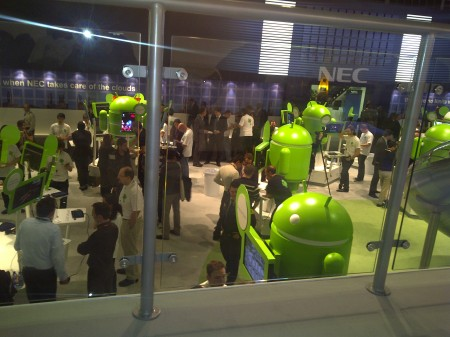 Android Stand at Mobile World Congress 2011 - Photo 1