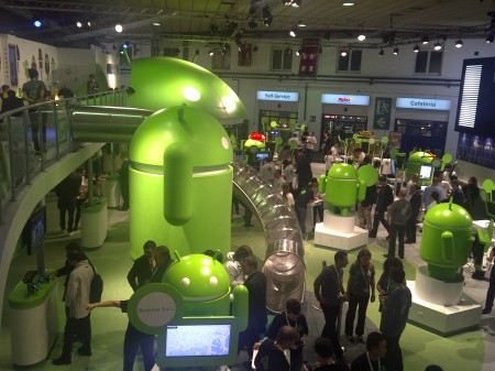 Android Stand at Mobile World Congress 2011 - Photo 2