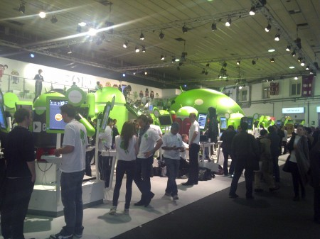 Android Stand at Mobile World Congress 2011 - Photo 3